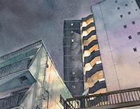 """""""Tokyo at Night"""" #02"""