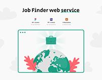 GoWwworks – Job Finder Web Product UX/UI Template