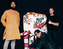 Haathi Sculpture for MAJOR LAZER