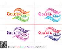 Golden Crop Logo Design #03 Jan 2019_Creative Design