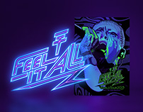 Tokio Hotel, 'Feel It All Worldtour' – Artwork