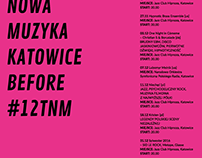 Before Tauron Nowa Muzyka poster design student project