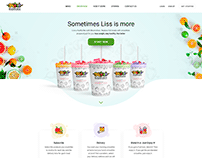 Web page design for bloomchew.com