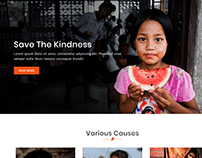Charity website design
