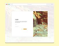 Minimal Login Page