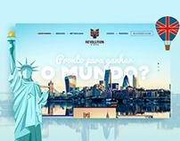 Revolution School - English Course Website