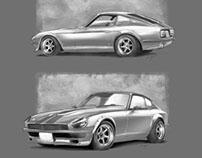 240Z rendering