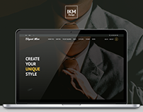 Elegant Man - eCommerce Website Concept