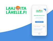 Lahjoita Lähelle - Web Service for Charities