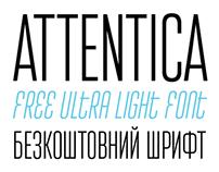 Attentica (Typeface)