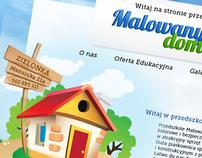 Nursery school - Malowany domek