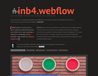 My Webflow blog, inb4.webflow.io