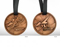 """""""Nike I Run Vilnius 2013"""" Medal"""