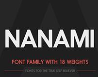 Nanami Font Family
