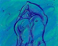 Blue Man, OCADU WhoDunIt? Fundraiser