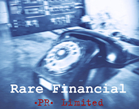 Stationery design Rare Financial (PR) Limited