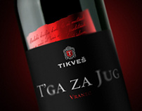 Wine Label: T'ga za Jug