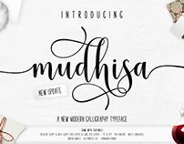 Mudhisa Script | 4 Font | 20% OFF