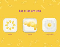 EGG X IOS APP ICON