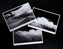 """Western Skies"" Postcards"