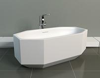 Bathtub in Cristalplant