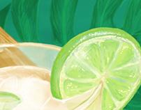 Cocktails - Illustrationen für ein Kochbuch
