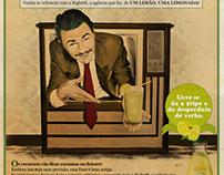 1 Limão 1 Limonada - Anúncio para Agência Righetti