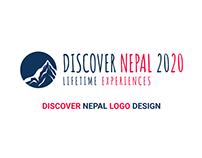 Discover Nepal 2020 | Logo Design