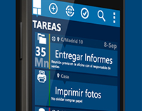 © aTAREADO Android Task management app