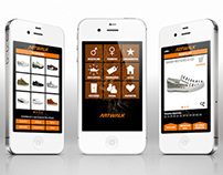 App Artwalk - UI/UX