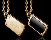Dog tag necklace   Tyvodar.com