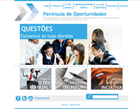Península de Oportunidades - Web Design and programming