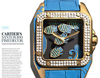 Paper Watches for WSJ. Magazine