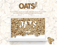 Oats Product Landing Page