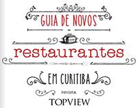Guia de novos restaurantes - Top View Curitiba