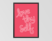 Inspirational Quote Prints // Typography