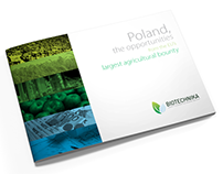 A4 landscape catalogue for Biotechnika