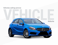 Vehicles selling service. Website.