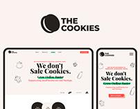 The Cookies - Agency | Logo design, Website, UX/UI