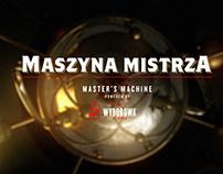 Wyborowa Master's Machine / 3D UI