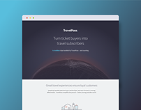 TravelPass webdesign