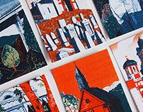 Banská Štiavnica - postcards