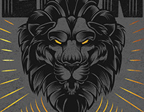 Lion Illustration/Logo for Beer Branding