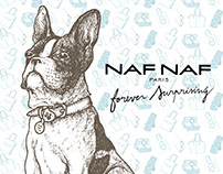 Catálogo ilustrado Naf Naf / Spring-Summer 2015