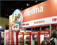 Diseño gráfica para stand Mexma 2013