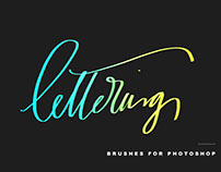Lettering Brushes For Photoshop
