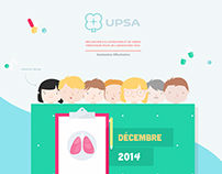 UPSA - Illustration & animation