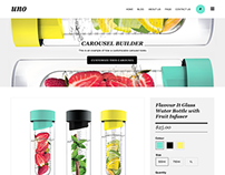 Uno Responsive One Product E-commerce Theme