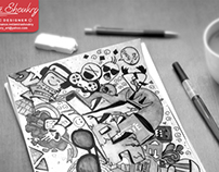 Emad name | Doodle art