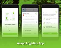 Asapp Logistics app